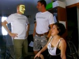 Vidéo porno mobile : One girl in heat, two rutting challengers, welcome to Loosetour!!